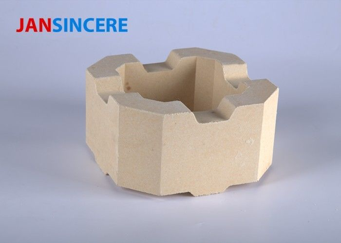 Heat Resistant Ceramic Brick , Heat Proof Bricks For ISO9001 Certificate