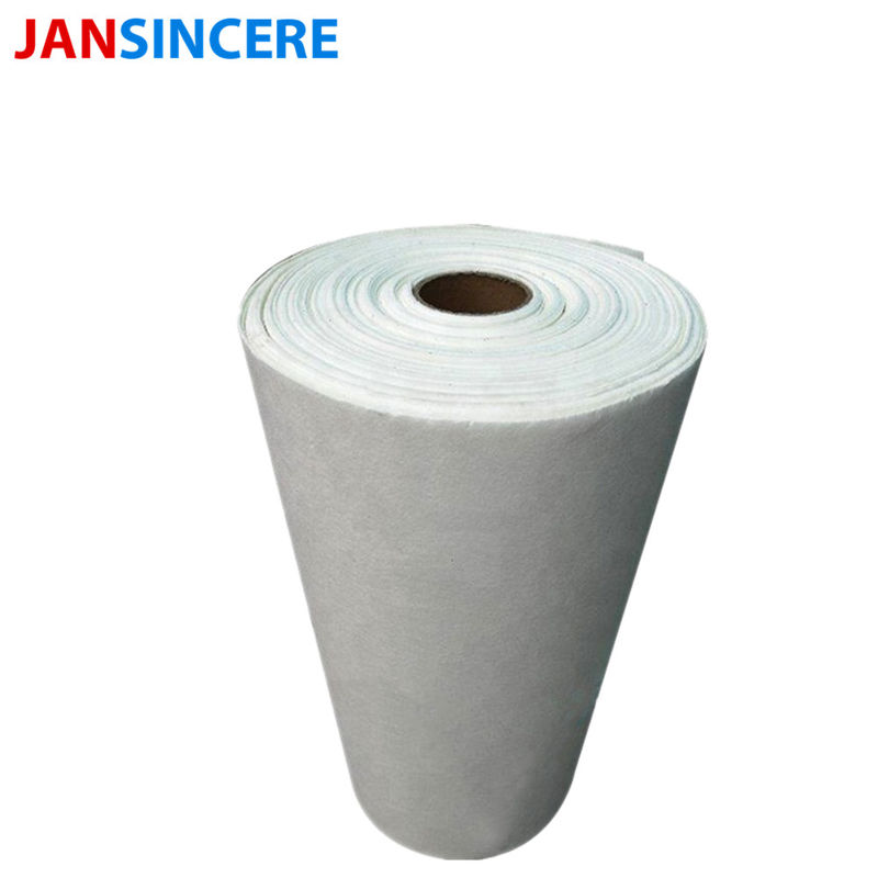 High Alumina Fire Resistant Ceramic Fiber Insulation Paper White Color