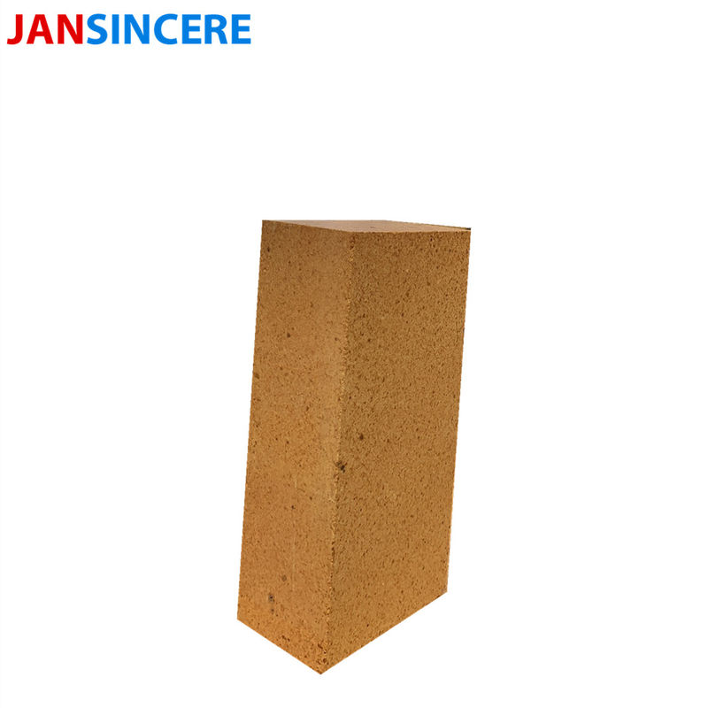 Alumina Block Heat Resistant Fire Bricks / Refractory Baking Brick For Metallurgy